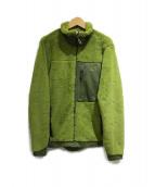 MOUNTAIN HARD WEAR(マウンテン ハード ウェア)の古着「フリースジャケット」 グリーン