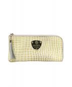ATAO(アタオ)の古着「L字ファスナー長財布」|ベージュ