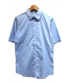 JIL SANDER(ジルサンダー)の古着「半袖シャツ」|スカイブルー