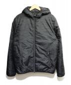 EA7(イーエーセブン)の古着「中綿ジャケット」|ブラック