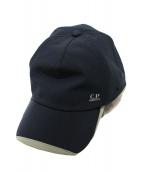 C.P COMPANY(シーピーカンパニー)の古着「キャップ」|ブラック