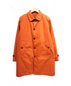 BEAMS(ビームス)の古着「ダウンライナー付ステンカラーコート」