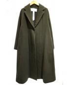 TICCA(ティッカ)の古着「ウールダブルテントコート」|カーキ