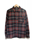 A.P.C.(アーペーセー)の古着「ウールチェックシャツ」|レッド