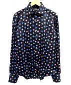 GABRIELE PASINI(ガブリエレ パジーニ)の古着「シャツ」|ブラック