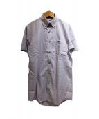 BURBERRY BLACK LABEL(バーバリーブラックレーベル)の古着「半袖シャツ」|パープル
