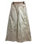 tsumori chisato(ツモリチサト)の古着「バーリントンツイル」|ベージュ