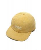 STUSSY(ステューシー)の古着「logo corduroy cap」|ベージュ
