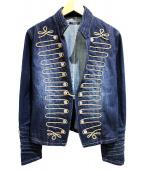 GLAMB by glamb(グラムバイグラム)の古着「Napoleon denim JKT」|インディゴ