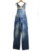 mina perhonen(ミナペルフォネン)の古着「オーバーオール」|ブルー