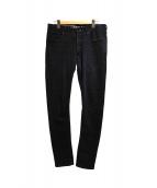 DENHAM(デンハム)の古着「デニムパンツ」|ブラック