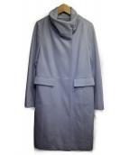 Reflect(リフレクト)の古着「スタンドカラーコート」|ライトブルー