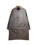 Gymphlex(ジムフレックス)の古着「ナイロンコットンコート」|ベージュ