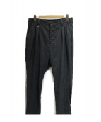 uniform experiment(ユニフォーム エクスペリメント)の古着「2タックパンツ」 グレー