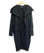 DKNY(ダナキャランニューヨーク)の古着「トッパーコート」|ブラック