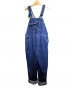KEY(キー)の古着「オーバーオール」|ブルー