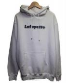 Lafayette(ラファイエット)の古着「ロゴプルオーバーパーカー」|ホワイト