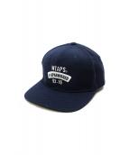 WTAPS×STARTER(ダブルタップス×スターター)の古着「SNAPBACK CAP」|ネイビー