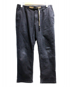 GRAMICCI(グラミチ)の古着「デニムクライミングパンツ」|ブラック