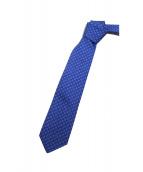 GUCCI(グッチ)の古着「ネクタイ」|ブルー