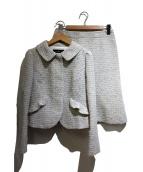 COTOO(コトゥー)の古着「ツイードセットアップ」|グレー