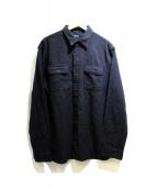 POLO RALPH LAUREN(ポロ バイ ラルフローレン)の古着「コットンシャツ」 グレー