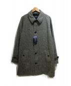 POLO RALPH LAUREN(ポロ バイ ラルフローレン)の古着「ヘリンボーンコート」 グレー