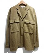 bractment(ブラクトメント)の古着「CPOジャケット」|カーキ
