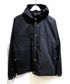 YAECA(ヤエカ)の古着「60/40クロスフードシャツ」 ブラック