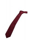 GUCCI(グッチ)の古着「ネクタイ」|ボルドー