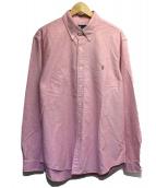 POLO RALPH LAUREN(ポロ・ラルフローレン)の古着「ボタンダウンシャツ」|ピンク