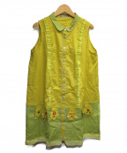 OLLEBOREBLA(アルベロベロ)の古着「ワンピース」 イエロー