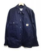 carhartt(カーハート)の古着「ジャケット」 ネイビー