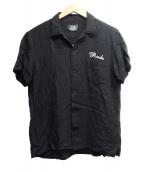 RUDE GALLERY(ルードギャラリ)の古着「ボーリングシャツ」|ブラック