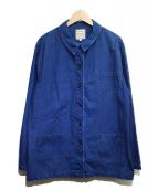 ARMOR LUX(アルモーリュックス)の古着「カバーオール」 ブルー