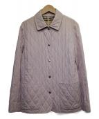 BURBERRY LONDON(バーバリーロンドン)の古着「キルティングジャケット」|ピンク