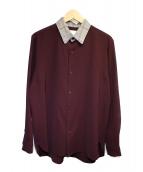Luis(ルイス)の古着「クレリックシャツ」|パープル