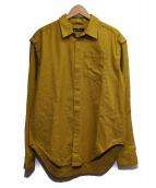 SYU.(シュウ)の古着「シャツジャケット」|イエロー