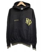BlackEyePatch(ブラックアイパッチ)の古着「EMBLEM HOODIE」|チャコールグレー