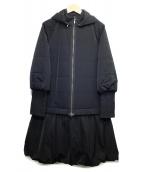 FOXEY NEWYORK(フォクシーニューヨーク)の古着「2WAYコート」 ブラック