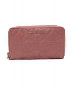 ()の古着「ラウンドファスナー財布」|ピンク