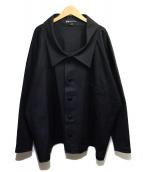 Y-3(ワイスリー)の古着「TWILL SHIRT」 ブラック