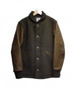 JACKMAN(ジャックマン)の古着「アワードジャケット」 ブラウン