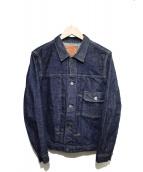 TCB jeans(ティーシービージーンズ)の古着「デニムジャケット」|インディゴ