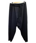 GROUND Y(グランド ワイ)の古着「Pants skirt」|ブラック