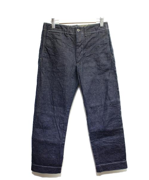 RRL(ダブルアールエル)RRL (ダブルアールエル) セルビッチデニムパンツ インディゴ サイズ:29 RN41381の古着・服飾アイテム