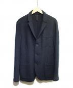 HARRIS WHARF LONDON(ハリスワーフロンドン)の古着「ウールテーラードジャケット」|ネイビー