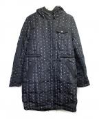 SONIA RYKIEL(ソニア リキエル)の古着「リバーシブルダウンコート」|ブラック
