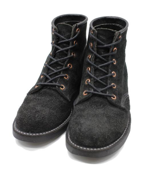 CHIPPEWA(チペワ)CHIPPEWA (チペワ) スウェードブーツ ブラック サイズ:サイズ印字読み取り不可の古着・服飾アイテム