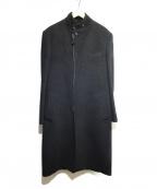 Jean Paul Gaultier homme(ジャンポールゴルチェオム)の古着「メルトンジップコート」 ブラック